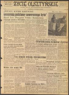 Życie Olsztyńskie : pismo ziemi warmińsko-mazurskiej, 1947, nr 172