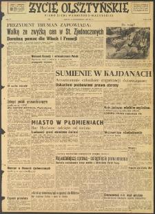 Życie Olsztyńskie : pismo ziemi warmińsko-mazurskiej, 1947, nr 177