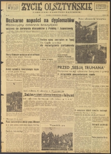 Życie Olsztyńskie : pismo ziemi warmińsko-mazurskiej, 1947, nr 180
