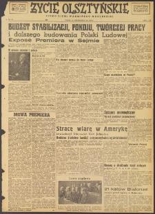 Życie Olsztyńskie : pismo ziemi warmińsko-mazurskiej, 1947, nr 183