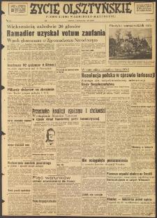 Życie Olsztyńskie : pismo ziemi warmińsko-mazurskiej, 1947, nr 184