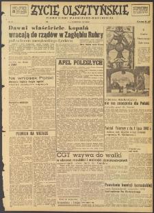 Życie Olsztyńskie : pismo ziemi warmińsko-mazurskiej, 1947, nr 185