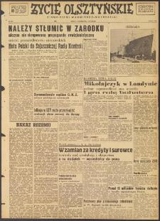 Życie Olsztyńskie : pismo ziemi warmińsko-mazurskiej, 1947, nr 187