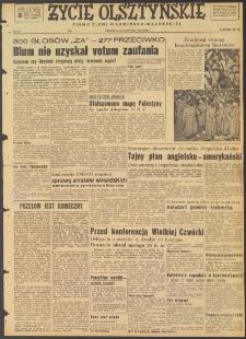 Życie Olsztyńskie : pismo ziemi warmińsko-mazurskiej, 1947, nr 205
