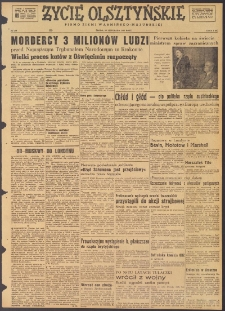 Życie Olsztyńskie : pismo ziemi warmińsko-mazurskiej, 1947, nr 208