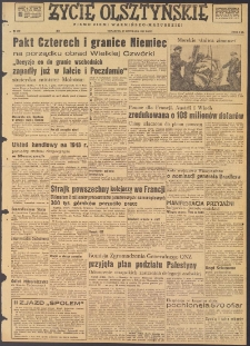 Życie Olsztyńskie : pismo ziemi warmińsko-mazurskiej, 1947, nr 209