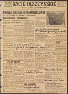 Życie Olsztyńskie : pismo ziemi warmińsko-mazurskiej, 1947, nr 210