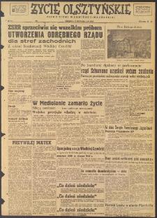 Życie Olsztyńskie : pismo ziemi warmińsko-mazurskiej, 1947, nr 212