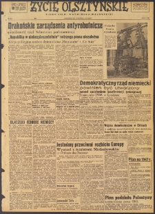 Życie Olsztyńskie : pismo ziemi warmińsko-mazurskiej, 1947, nr 213