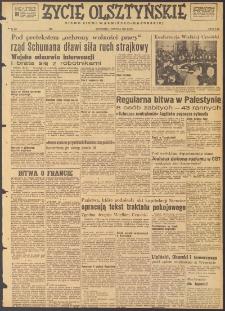 Życie Olsztyńskie : pismo ziemi warmińsko-mazurskiej, 1947, nr 216
