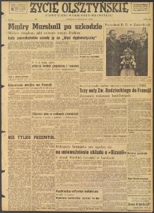 Życie Olsztyńskie : pismo ziemi warmińsko-mazurskiej, 1947, nr 222