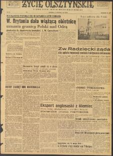 Życie Olsztyńskie : pismo ziemi warmińsko-mazurskiej, 1947, nr 225