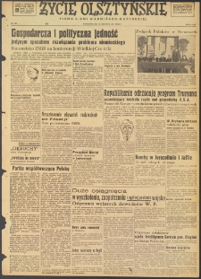 Życie Olsztyńskie : pismo ziemi warmińsko-mazurskiej, 1947, nr 226