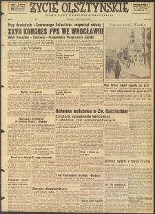 Życie Olsztyńskie : pismo ziemi warmińsko-mazurskiej, 1947, nr 227