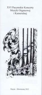 XVI Pasymskie Koncerty Muzyki Organowej i Kameralnej