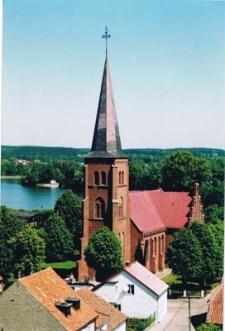 Pasym - widok z wieży ratusza 2003r. [4]