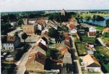 Pasym - widok z wieży kościoła katolickiego 2003r. [2]