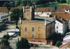 Pasym - widok z wieży kościoła katolickiego 2003r. [3]