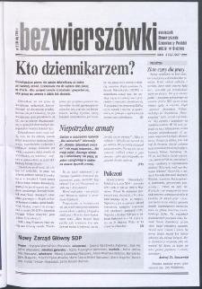 Bez Wierszówki, 2005, nr 2
