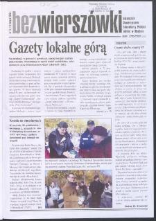 Bez Wierszówki, 2005, nr 11