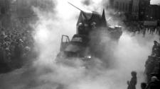 Pochód pierwszomajowy w Mrągowie 1967. [15]
