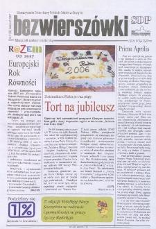 Bez Wierszówki, 2007, nr 4
