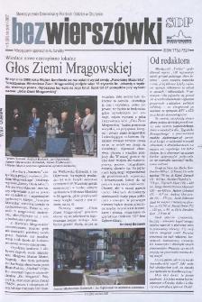 Bez Wierszówki, 2007, nr 8