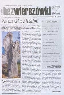 Bez Wierszówki, 2007, nr 10