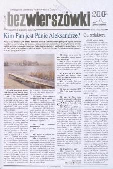 Bez Wierszówki, 2007, nr 11