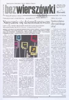 Bez Wierszówki, 2008, nr 9