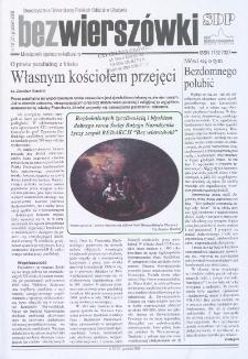 Bez Wierszówki, 2008, nr 10