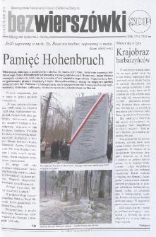 Bez Wierszówki, 2011, nr 3-4