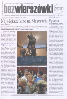 Bez Wierszówki, 2012, nr 8-9