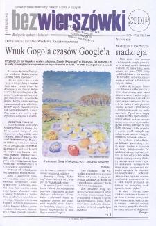 Bez Wierszówki, 2013, nr 3