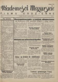 Wiadomości Mazurskie : pismo codzienne. 1946 (R. 2), nr 5