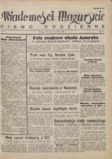 Wiadomości Mazurskie : pismo codzienne. 1946 (R. 2), nr 6