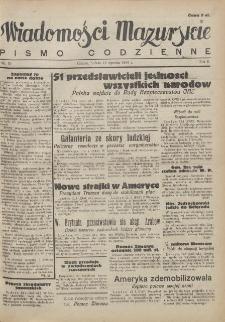 Wiadomości Mazurskie : pismo codzienne. 1946 (R. 2), nr 10