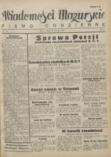 Wiadomości Mazurskie : pismo codzienne. 1946 (R. 2), nr 13
