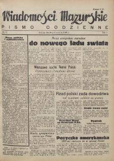 Wiadomości Mazurskie : pismo codzienne. 1946 (R. 2), nr 17