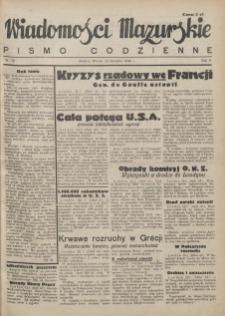 Wiadomości Mazurskie : pismo codzienne. 1946 (R. 2), nr 18