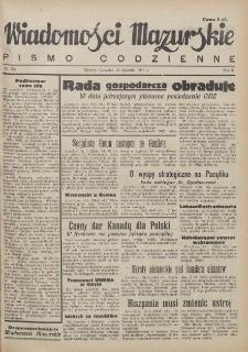 Wiadomości Mazurskie : pismo codzienne. 1946 (R. 2), nr 20