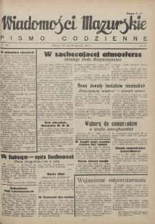 Wiadomości Mazurskie : pismo codzienne. 1946 (R. 2), nr 23