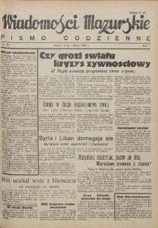Wiadomości Mazurskie : pismo codzienne. 1946 (R. 2), nr 30