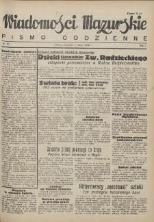 Wiadomości Mazurskie : pismo codzienne. 1946 (R. 2), nr 31