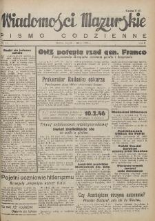 Wiadomości Mazurskie : pismo codzienne. 1946 (R. 2), nr 33