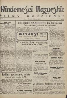 Wiadomości Mazurskie : pismo codzienne. 1946 (R. 2), nr 34