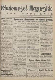 Wiadomości Mazurskie : pismo codzienne. 1946 (R. 2), nr 35