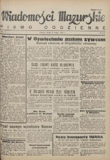 Wiadomości Mazurskie : pismo codzienne. 1946 (R. 2), nr 42
