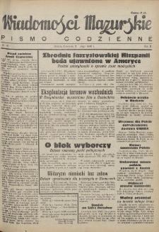 Wiadomości Mazurskie : pismo codzienne. 1946 (R. 2), nr 43