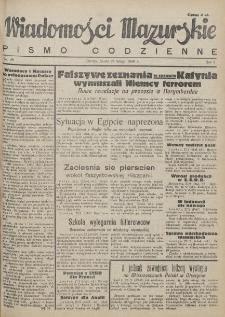 Wiadomości Mazurskie : pismo codzienne. 1946 (R. 2), nr 48